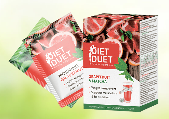 DietDuet natural body trimming sachets