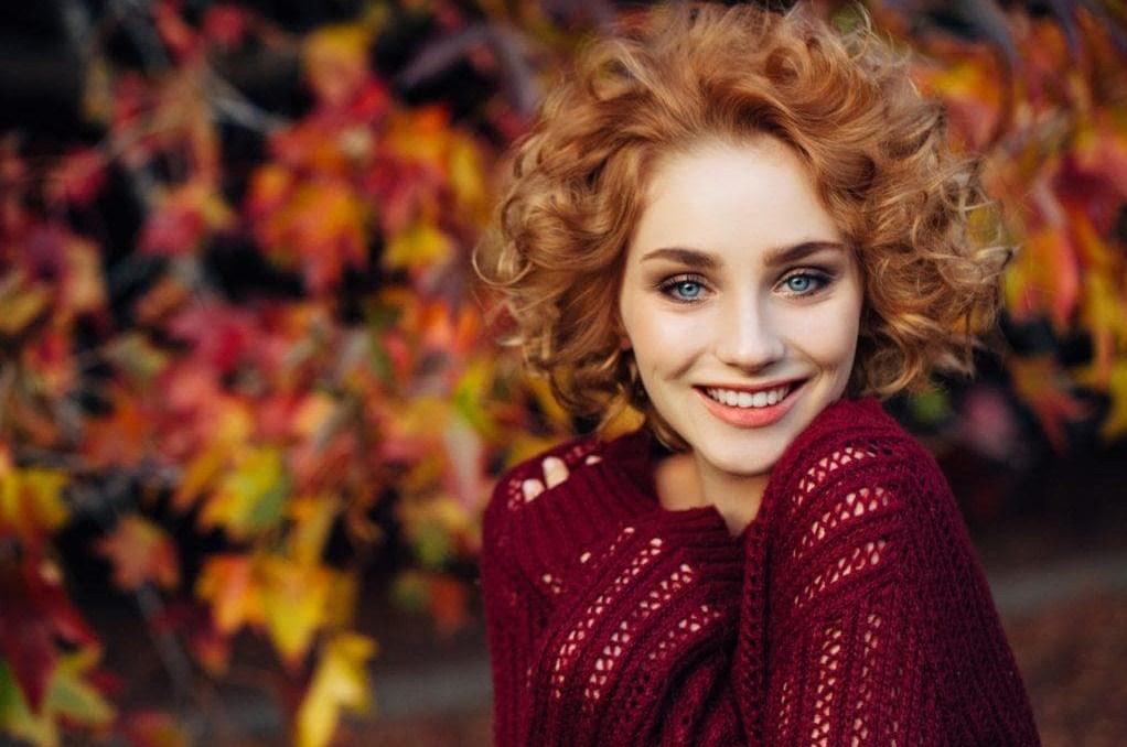 Woman Beauty Autumn