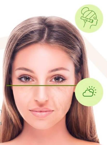 woman, face skin