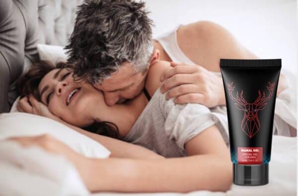 maral gel, erection, penis size, couple
