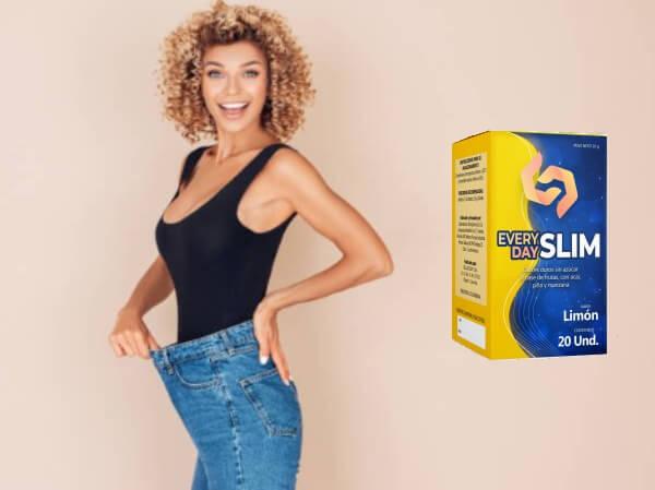 capsules, slim woman
