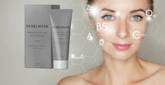 Pearl Mask, anti-aging, woman, wrinkles