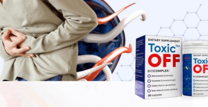 Toxic Off – Formula with Powerful Parasite-Killing Herbs and Total Cleansing and Detoxifying Support