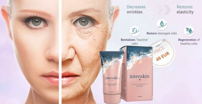 Intenskin cream guarantees fast anti-age results at an affordable price